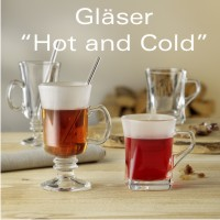 "Gläser ""Hot & Cold"""