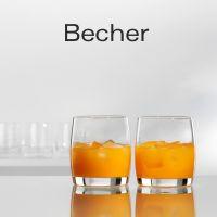 Becher - glatt