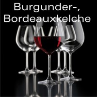 Burgunder-, Bordeauxkelche