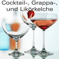 Cocktail-, Grappa-, Likörkelche