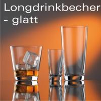 Longdrinkbecher - glatt