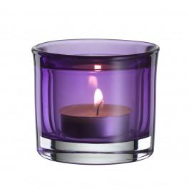 Teelichthalter aubergine (58x65 mm) - Colour