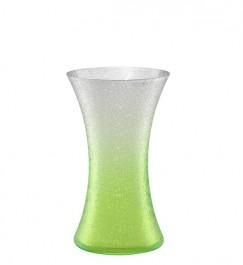 Vase 25,5 cm grün - Craquelé