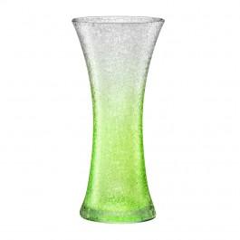 Vase 30,0 cm grün - Craquelé