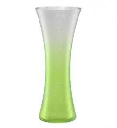 Vase 34,0 cm grün - Craquelé